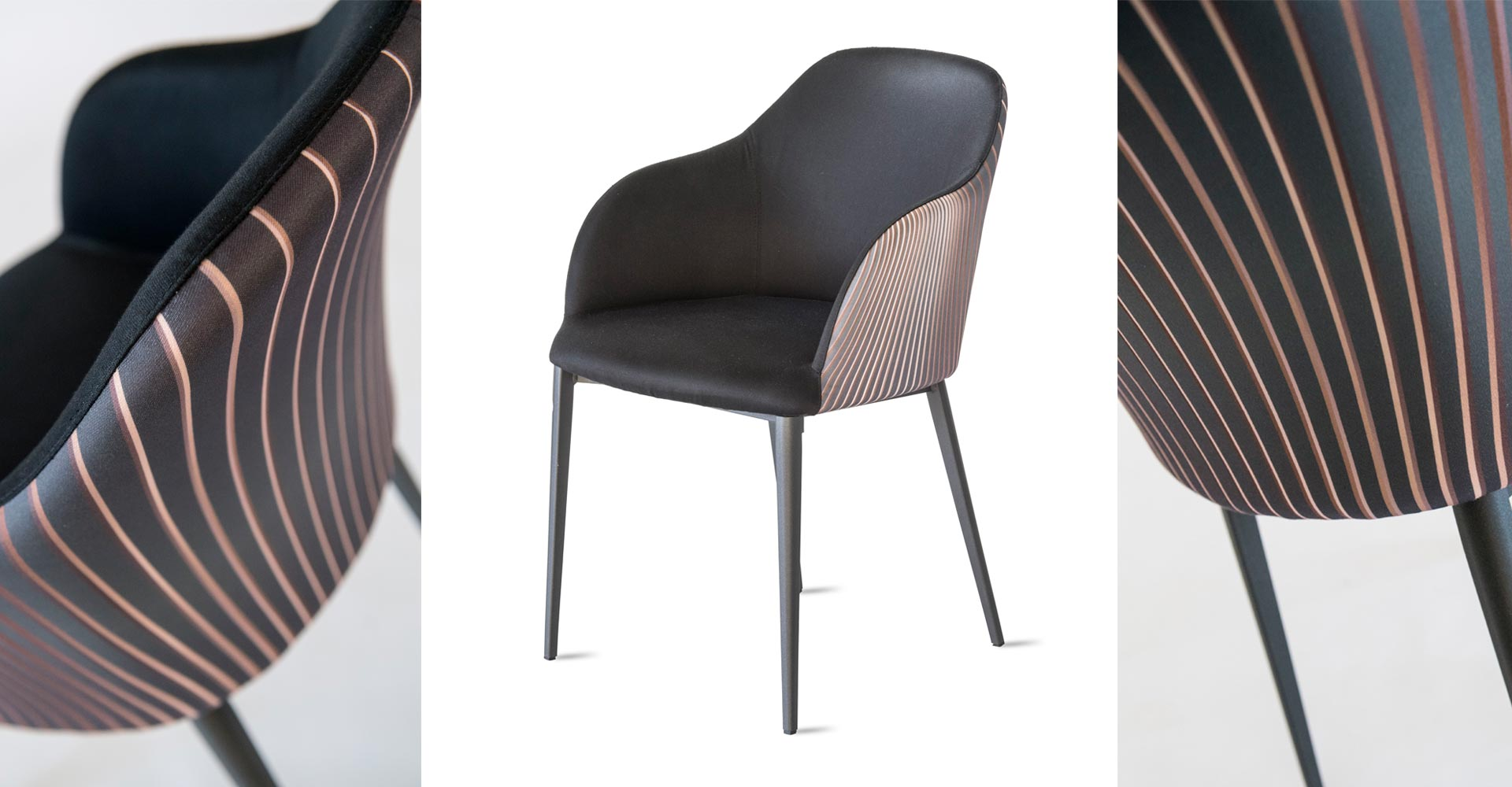 Modern Italian Design dining chair by Riflessi-Sofia