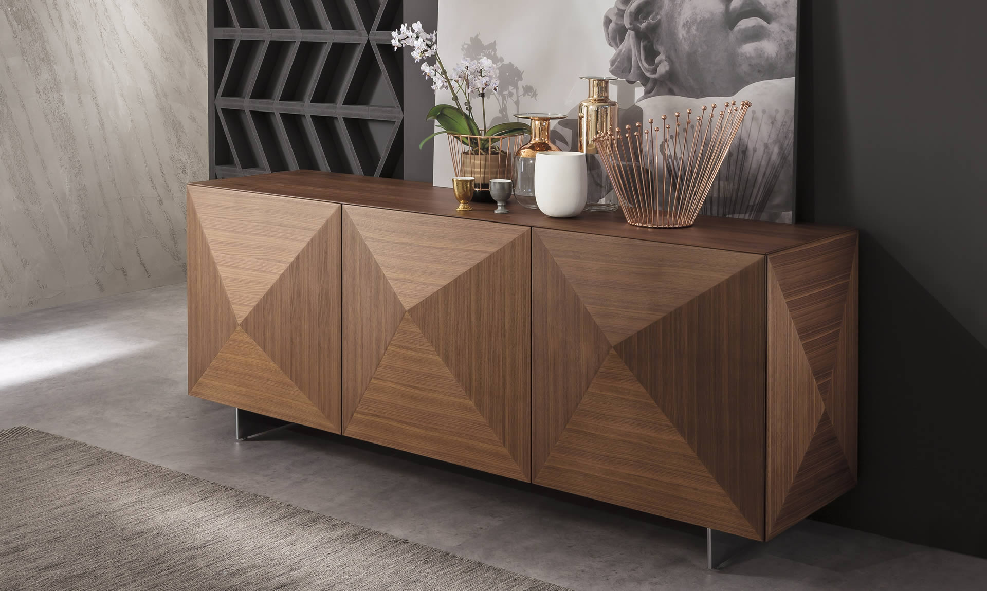 Modern Italian Design sideboard by Riflessi-c_wood_1