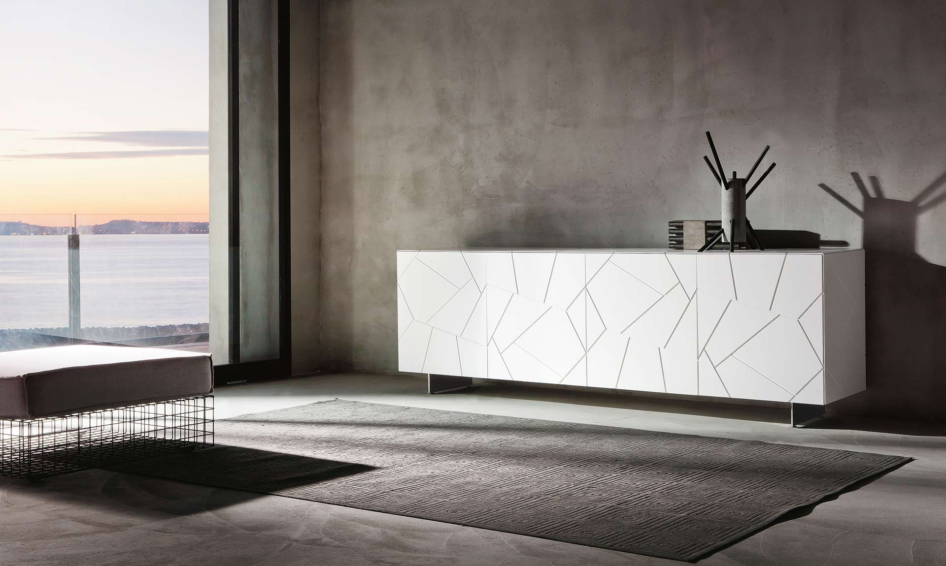 sideboard-gloss-white-lacquered-segno-s4-riflessi