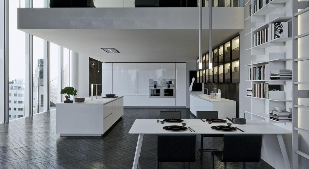 Modern Kitchen showroom Los gatos