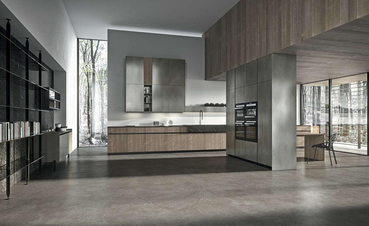 Italian Modern Kitchen Cabinets Arrital AK 05 Taylor Made