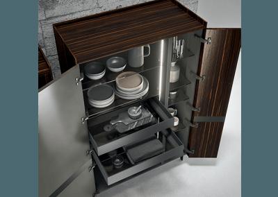 Accessories in Modern Italian Kitchen