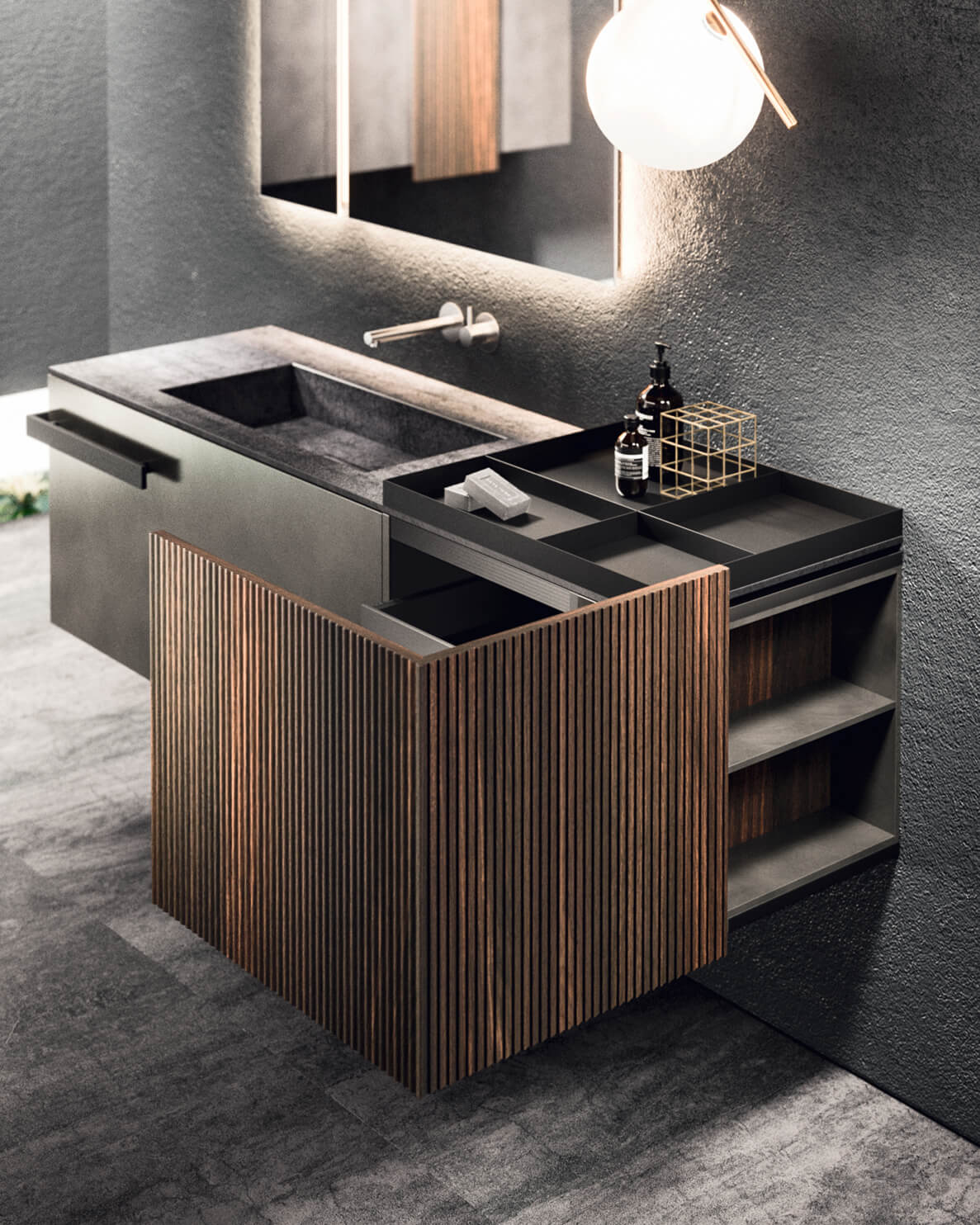 Luxury Italian Modern Bathroom  LYMPHA