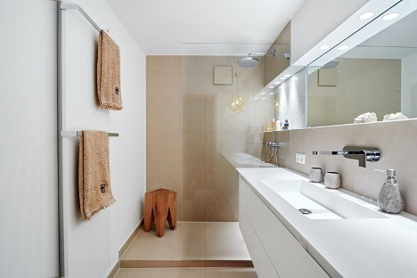 Ideagroup: modern bathroom design for a small area